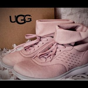 Pink UGG hi-tops - NEW in box